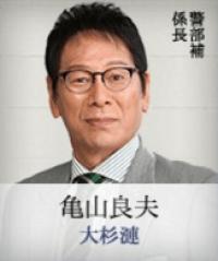 警視庁ゼロ係 キャスト 亀山良夫役 大杉漣