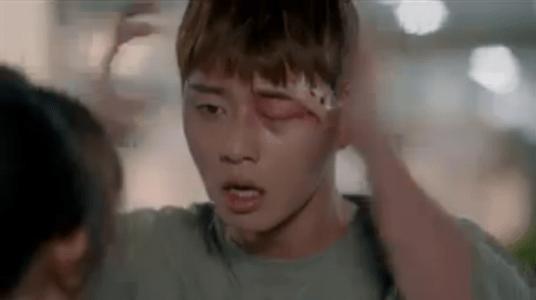 韓国ドラマ「サム、マイウェイ」14話 耳を叩くコ・ドンマン