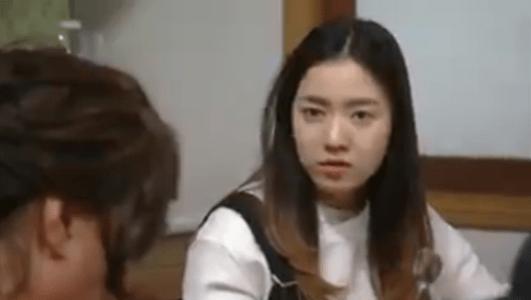 韓国ドラマ「お父さんが変」1話 反論するビョン・ラヨン