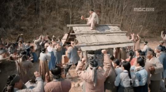 「君主(クンジュ)~仮面の主人~」第5話 井戸の水が出る