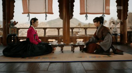「君主(クンジュ)~仮面の主人~」第6話 イ・ソンとキム・ファグン