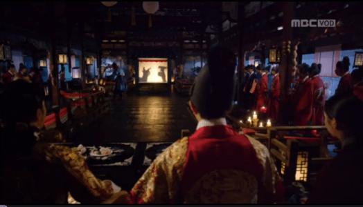 「君主(クンジュ)~仮面の主人~」第11話 影絵をみる