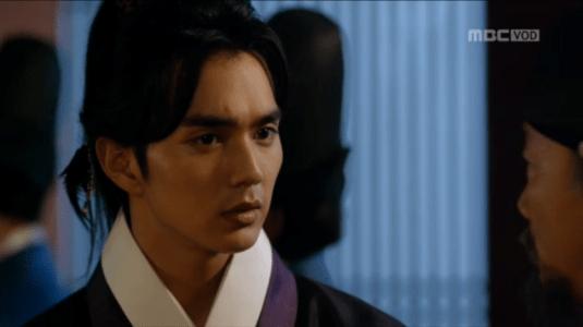 「君主(クンジュ)~仮面の主人~」第11話 驚くイ・ソン