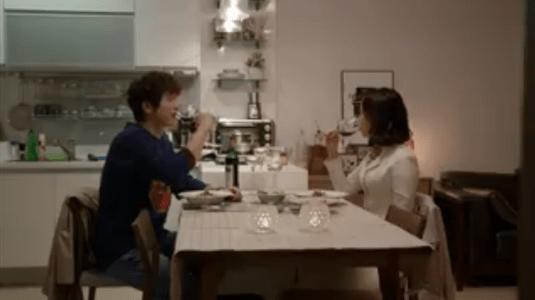 「お父さんが変」第7話 乾杯するヘヨン