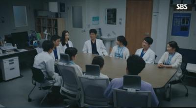 [胸部外科]~心臓を盗んだ医師たち~ 第31話,第32話 打ち合わせする医師たち