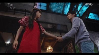 [椿の花咲く頃] 第17話 トンベクの手を握る
