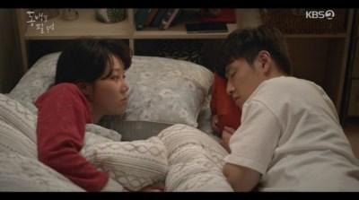 [椿の花咲く頃] 第32話 添い寝するヨンシク