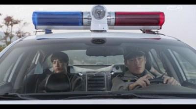 [椿の花咲く頃] 第32話 パトカーに乗るジョンニョル