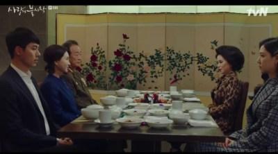[愛の不時着] 第6話 食事会をするジョンヒョクとダン