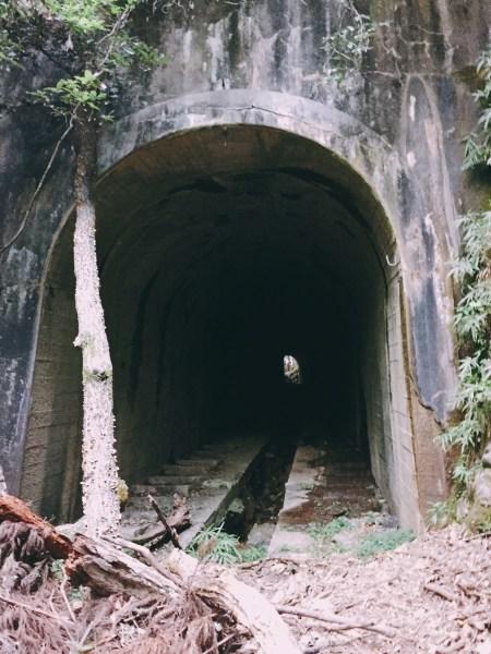 愛宕山鉄道 トンネル1