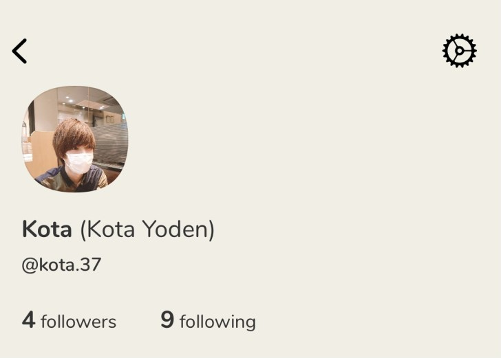 ClubhouseのKotaのアカウントです