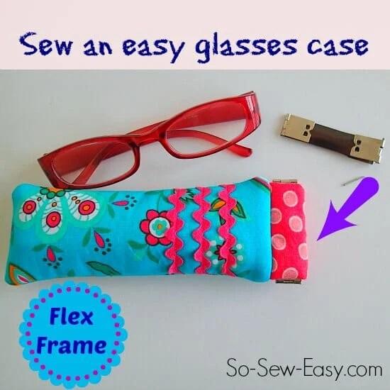 Easy Flex Frame Glasses Case Sewing Tutorial
