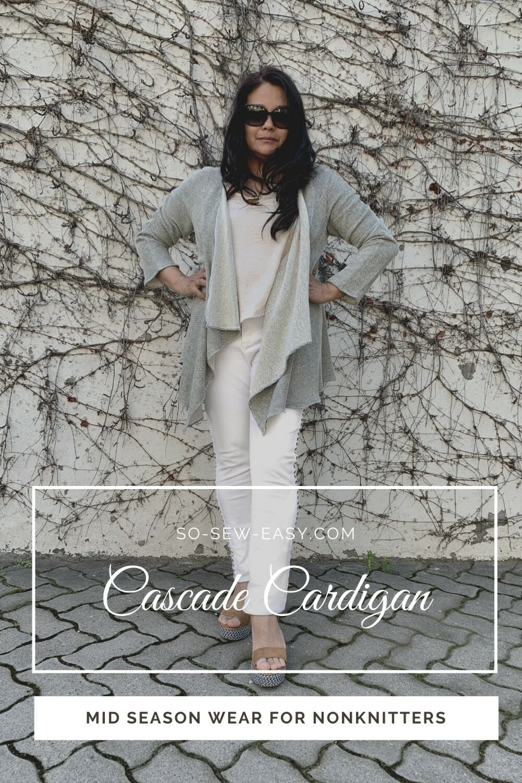 Cascade Cardigan - Free Sewing Pattern
