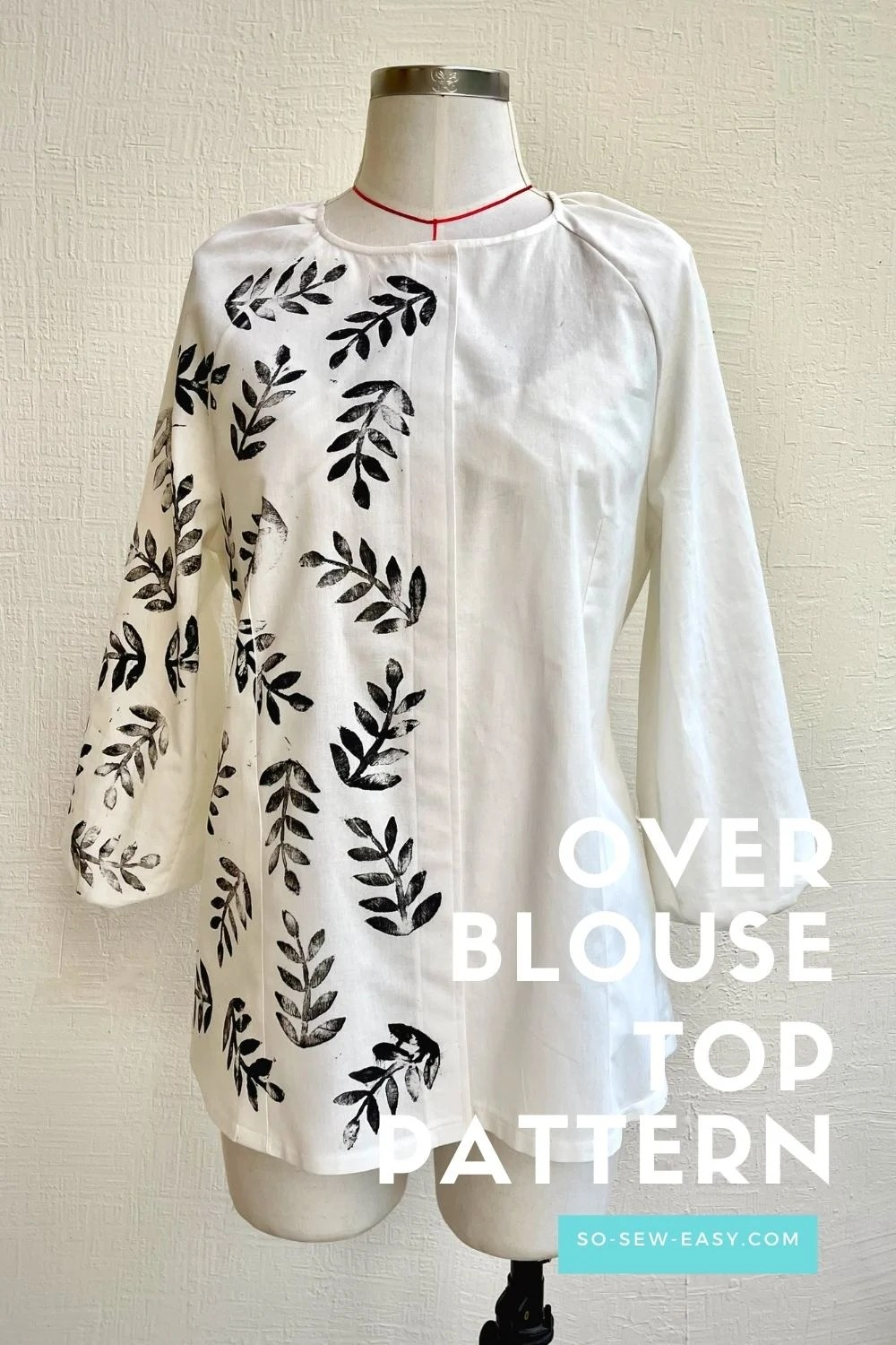 Women's Overblouse Top - Free Sewing Pattern
