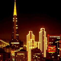San Francisco bei Nacht