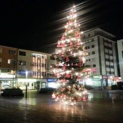 Maternusplatz, KölnRodenkirchen, Köln, Weihnachtsbaum, Christbaum
