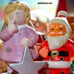 Weihnachtsmann, Santa Claus, Nikolaus; Engel