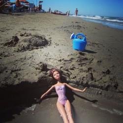 Barbie Sonnenbad