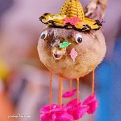 lustiger Fisch mit Hut