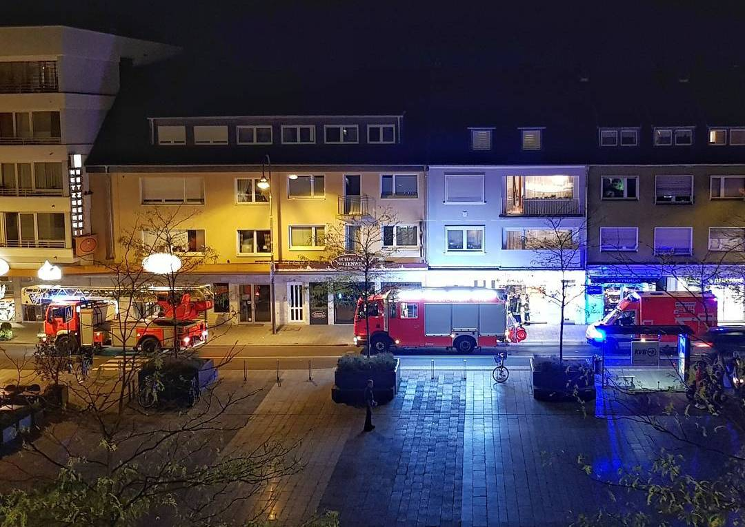 Rettungseinsatz am Maternusplatz IX 2017