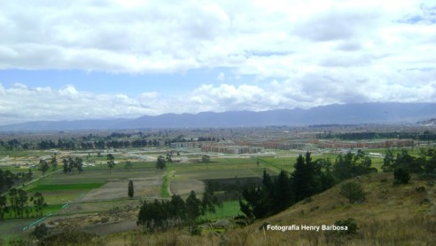 Panorámica de Ciudad Verde en el municipio de Soacha. Fotografía de Henry Barbosa.