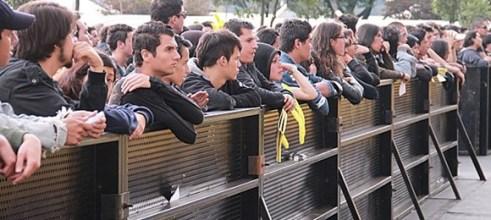 Un fracaso total fue la opinión general de los frustrados asistentes al festival.