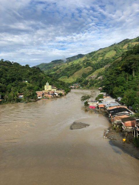 Rio Cauca, Puerto Valdivia