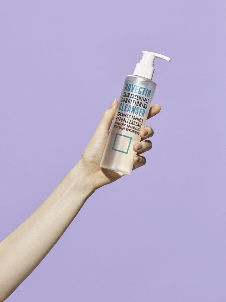rovectin conditioning cleanser aqua enriched line