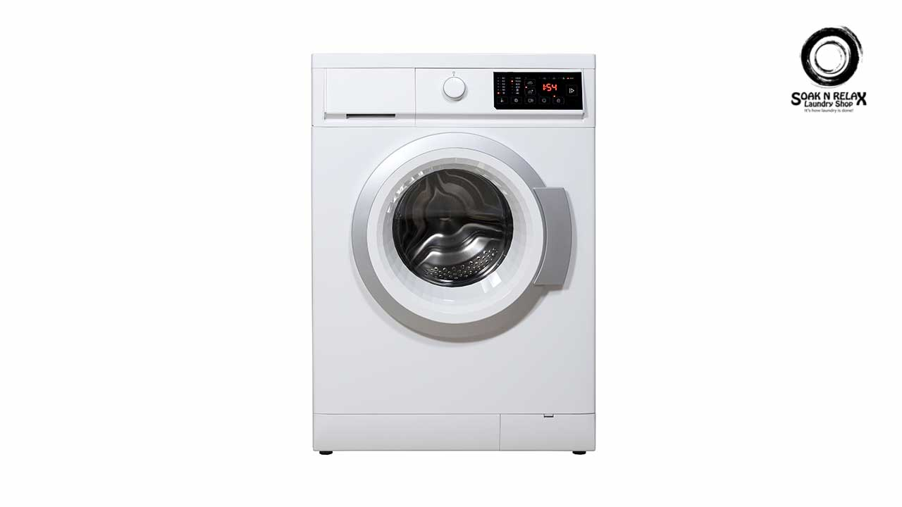 Front loading clean washing machine