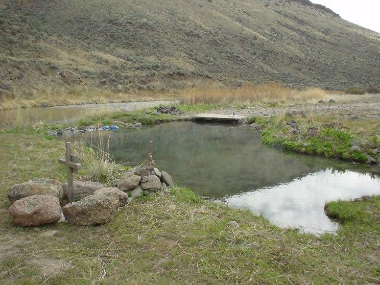 Juntura Hot Springs Spring