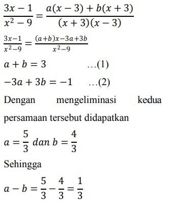 Contoh Soal Tes Matematika Dasar Sma