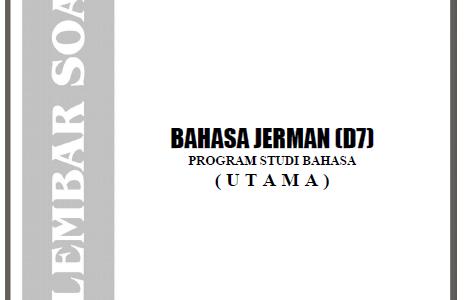 Soal Ujian Nasional SMA Bahasa 2005