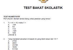 Soal Cpns Lipi Bank Soal Ujian