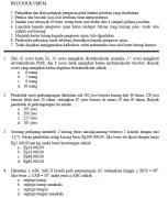 soal ujian nasional smp 2003 matematika
