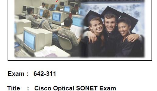 CCNA Exam 642-311 – Cisco Optical SONET Exam