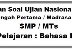 Latihan Soal Ujian Nasional SMP 2011
