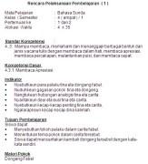 RPP Bahasa Sunda SD/MI Kelas 3-6