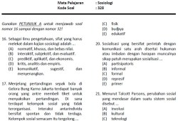 Soal Latihan SNMPTN 2012