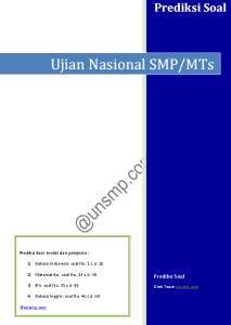 prediksi ujian nasional smp 2014