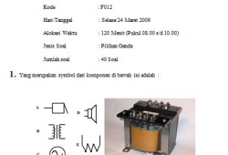 Soal Ujian Nasional Teori Kejuruan SMK Teknik Elektronika Industri