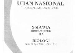 Naskah Soal UN SMA IPA/IPS 2014 Paket 1 Lengkap