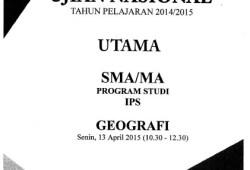 Naskah Soal UN SMA IPA/IPS 2015 Paket 1 Lengkap