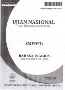 Naskah Soal UN SMP Bahasa Inggris 2014
