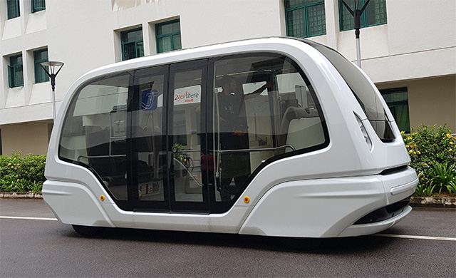 NTU's driverless buses delayed indefinitely
