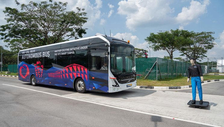 Get to know NTU's driverless buses of the future