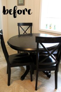 Kitchen Table Makeover (Or rather, how I brightened up my ...