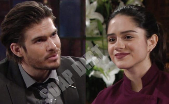 Cbs Young And The Restless Spoilers Theo Lola Kiss