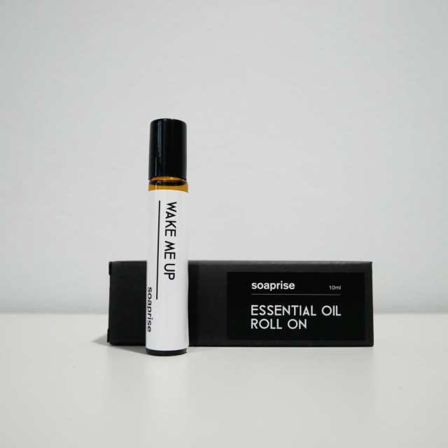 wake me up essential oil roller