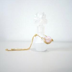 pink essential oil bracelet