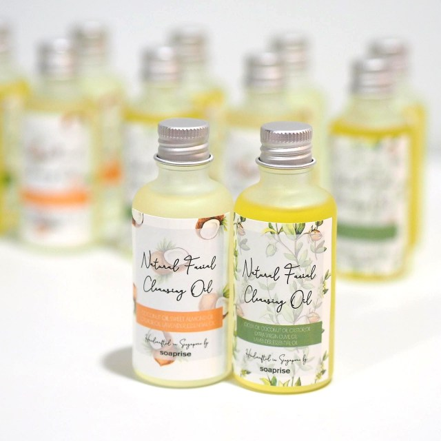 Natural Facial Cleansing Oil